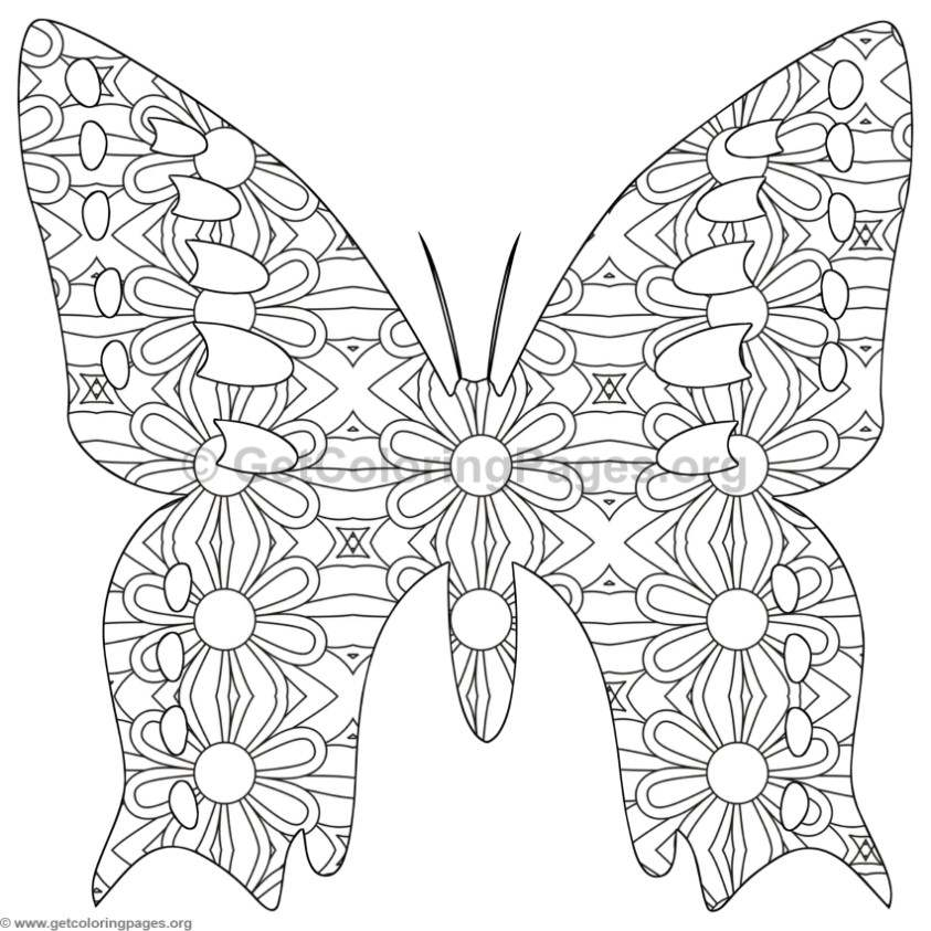 88 Butterfly Coloring Sheets Pdf Pictures To Color