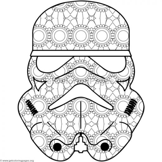 star wars mandala coloring pages sketch coloring page. Black Bedroom Furniture Sets. Home Design Ideas