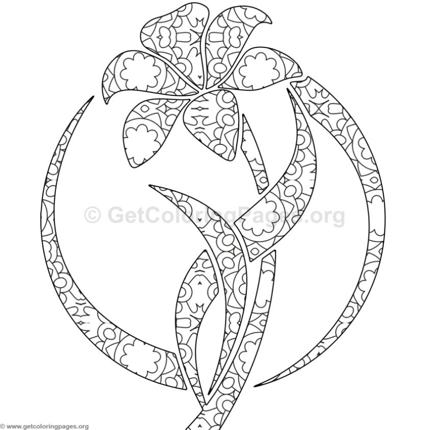 flower garden coloring pages GetColoringPagesorg