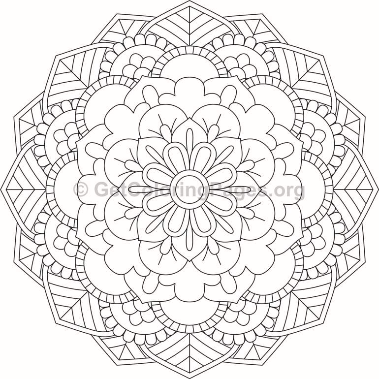 flower mandala coloring pages  46  u2013 getcoloringpages org