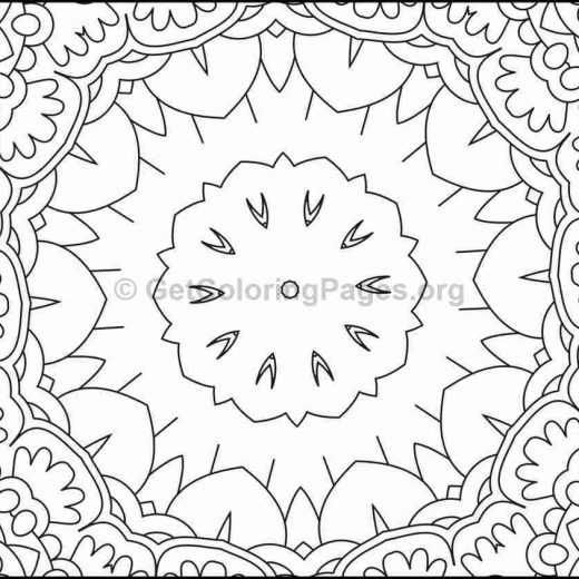 mosaic pattern coloring pages 11