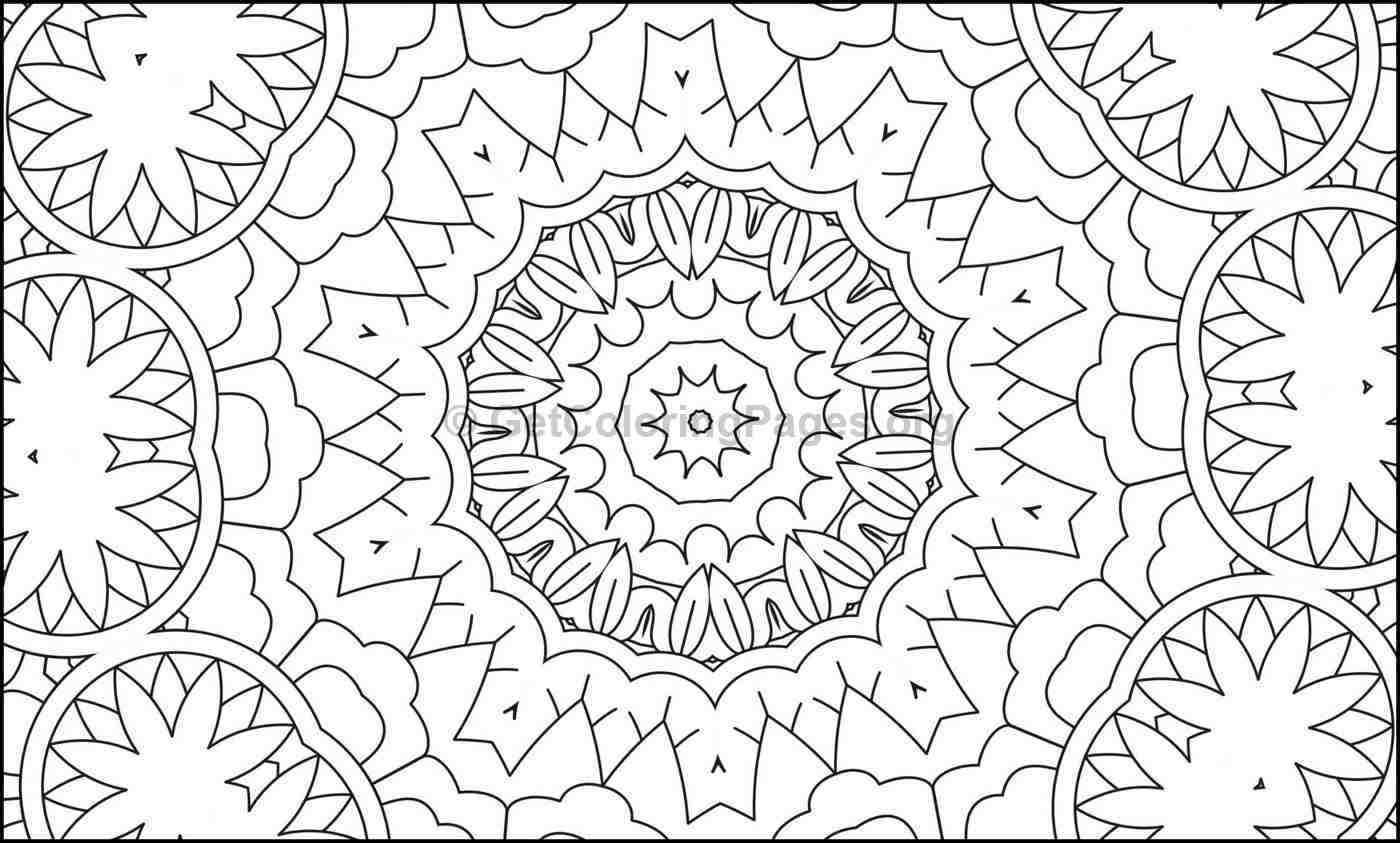Mosaic Pattern Coloring Pages 6