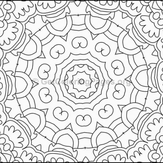 mosaic pattern coloring pages 7