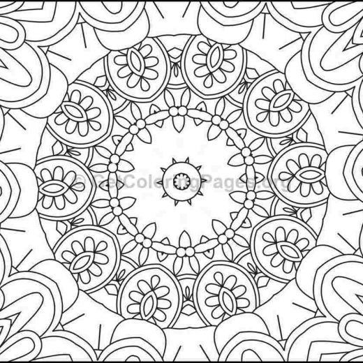 mosaic pattern coloring pages 9