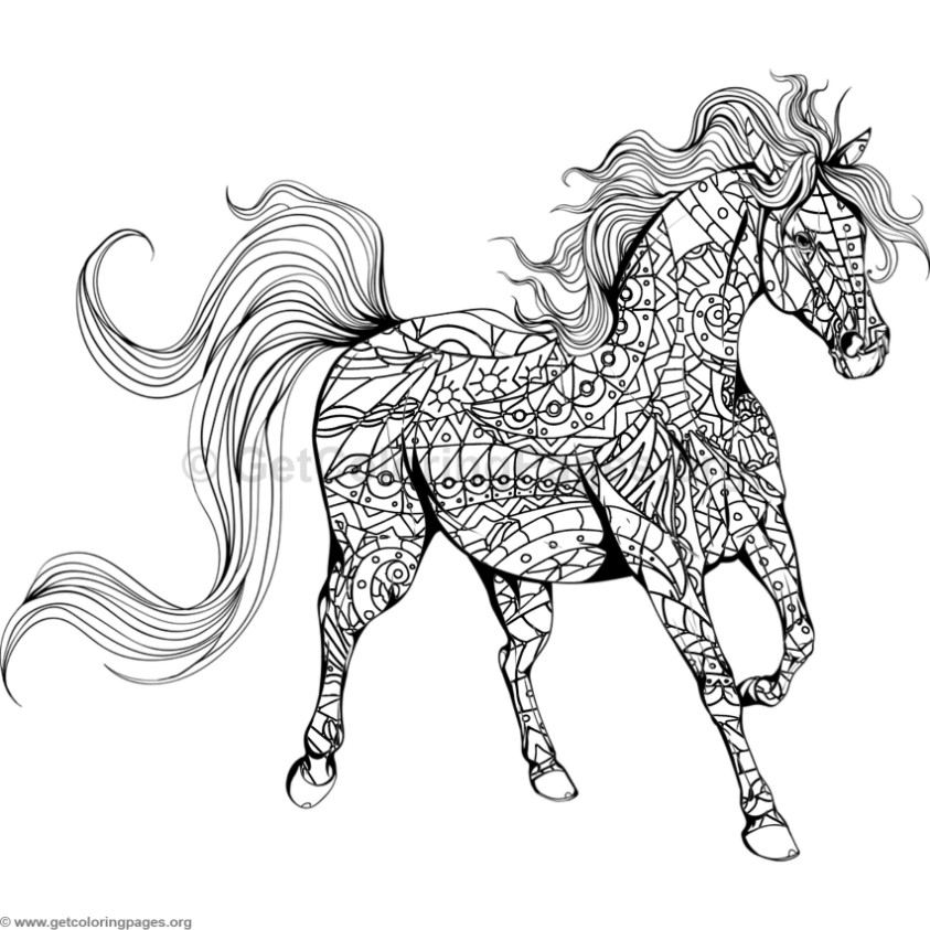 Horse Coloring Pages GetColoringPages