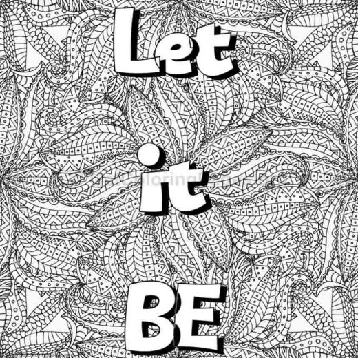 Inspirational Word Coloring Pages 11