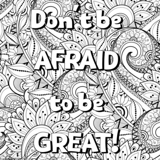 Inspirational Word Coloring Pages 42