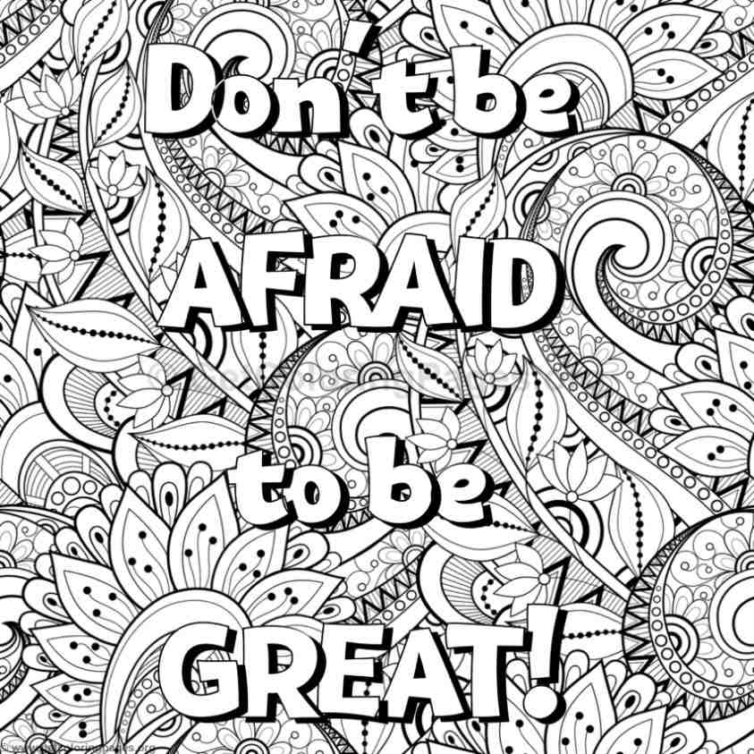 inspirational word coloring pages 42 - Inspirational Word Coloring Pages