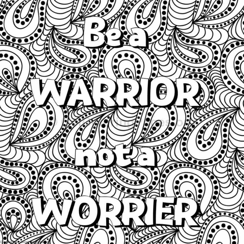 Inspirational Word Coloring Pages #50 – GetColoringPages.org