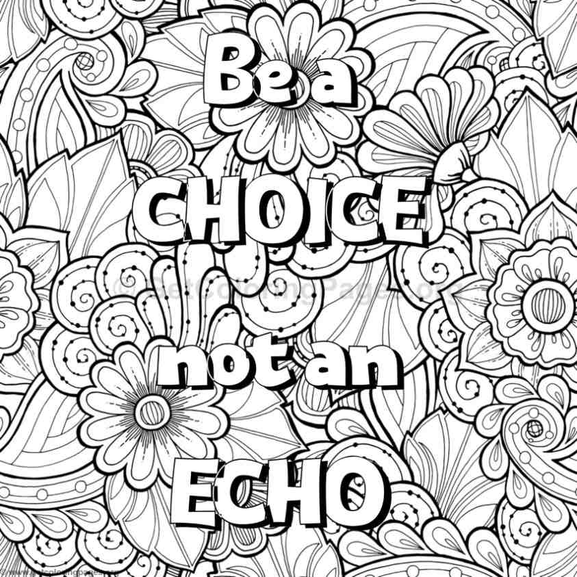 Inspirational Word Coloring Pages #53 - GetColoringPages.org