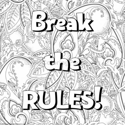Inspirational Word Coloring Pages 61