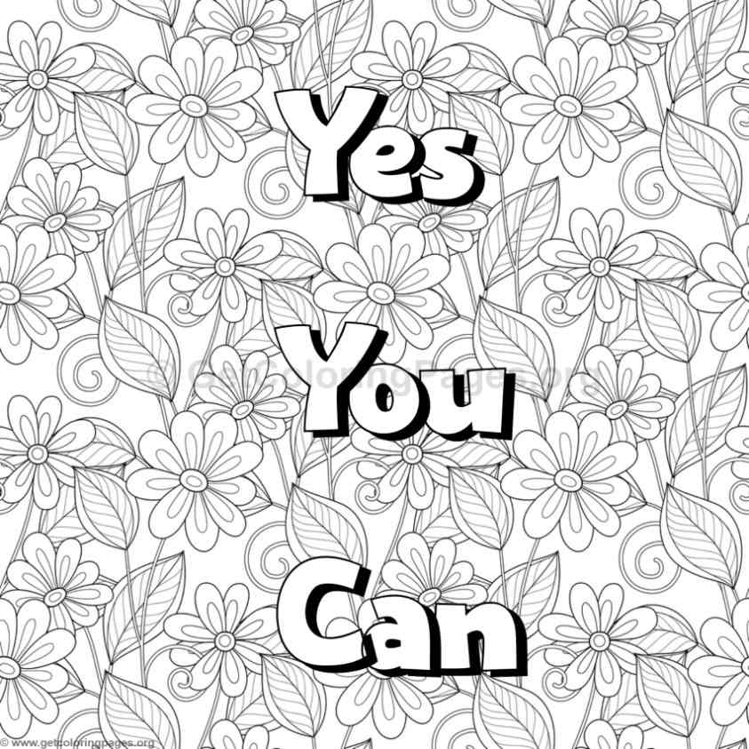 inspirational word coloring pages 63 - Inspirational Word Coloring Pages