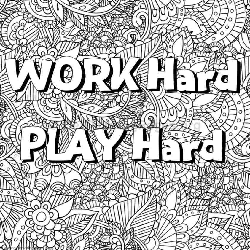 Inspirational Word Coloring Pages #68 - GetColoringPages.org