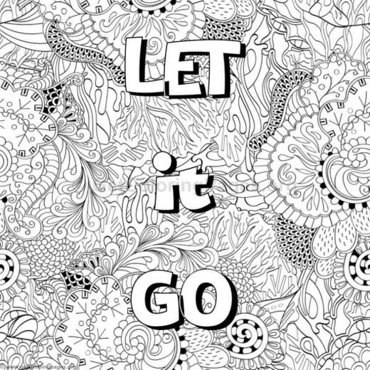 Inspirational Word Coloring Pages 70