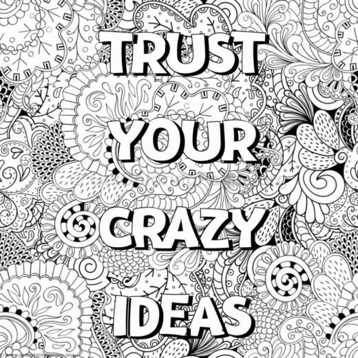 Inspirational Word Coloring Pages 71