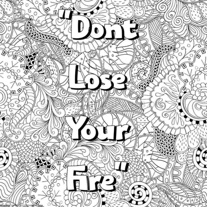 Inspirational Word Coloring Pages 76 GetColoringPages