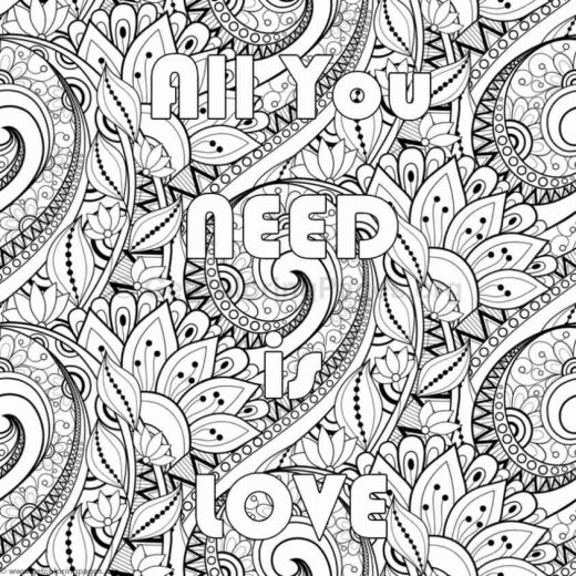 Inspirational Word Coloring Pages 77