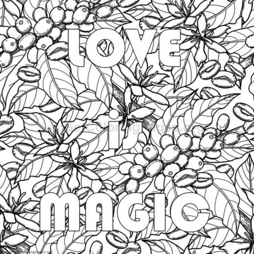 Inspirational Word Coloring Pages 79