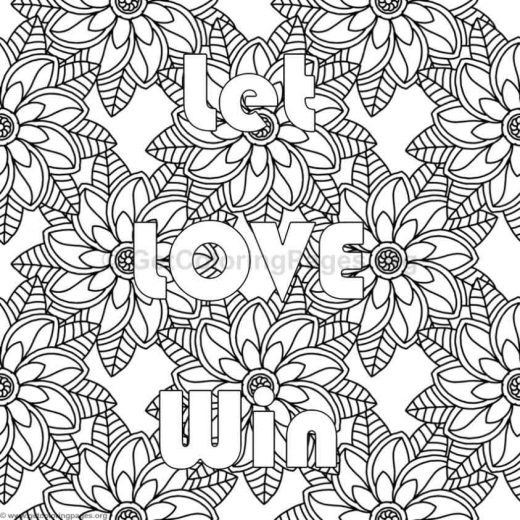 Inspirational Word Coloring Pages 80