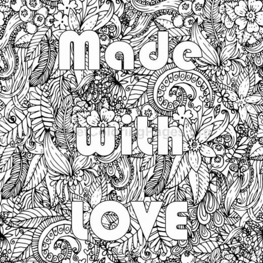 Inspirational Word Coloring Pages 82