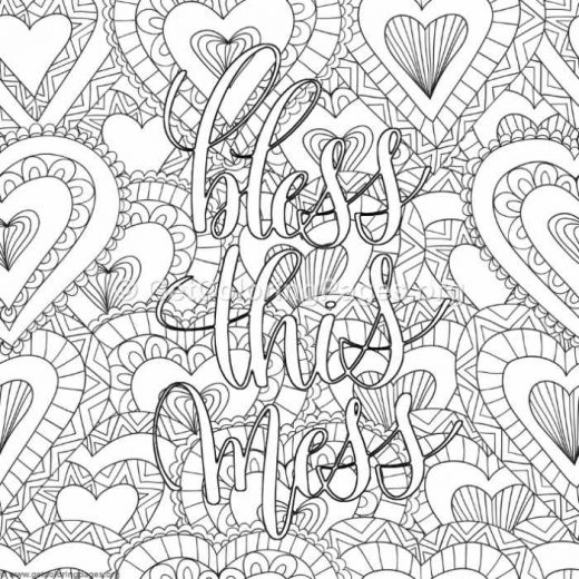 Inspirational Word Coloring Pages 84