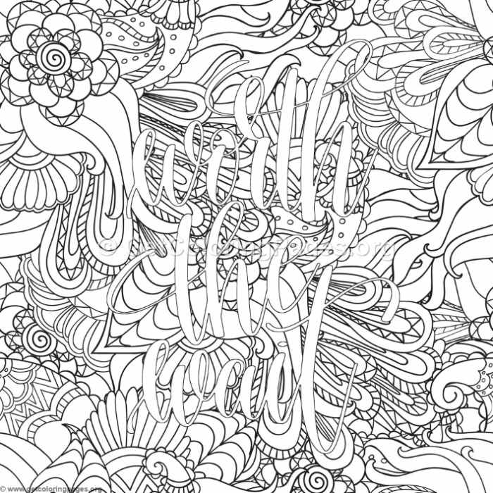 Inspirational Word Coloring Pages 85