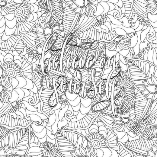 Inspirational Word Coloring Pages 90