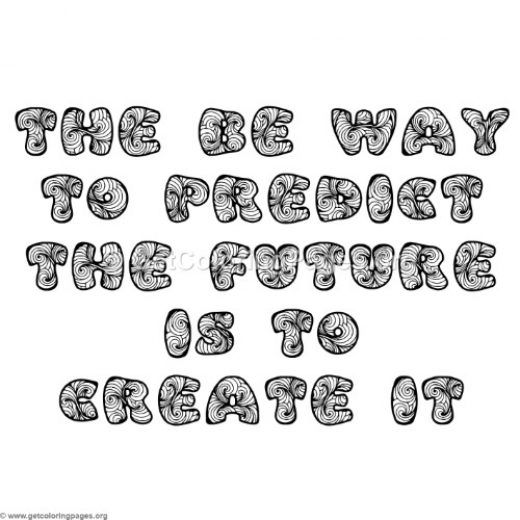 Inspirational Word Coloring Pages 91