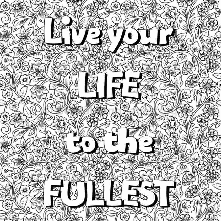 Inspirational Word Coloring Pages #19 - GetColoringPages.org
