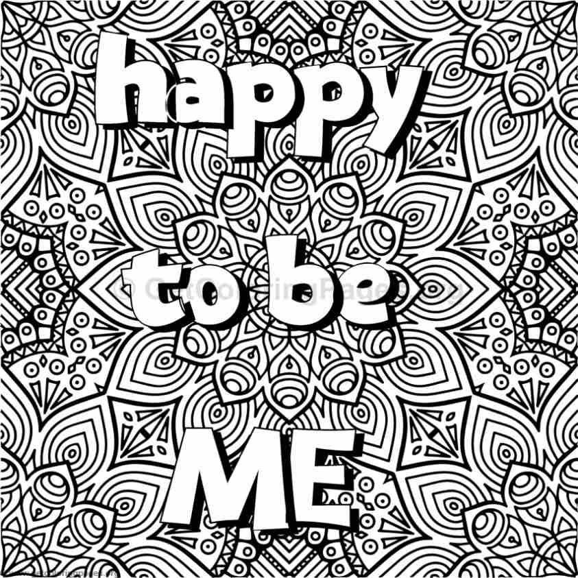 Inspirational Word Coloring Pages 24 GetColoringPages