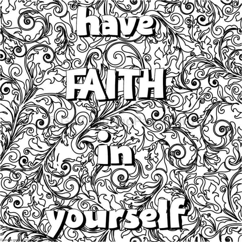 inspirational word coloring pages 29 - Inspirational Word Coloring Pages