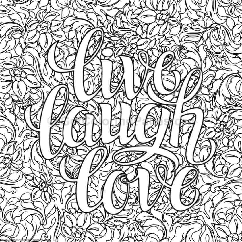 Inspirational Word Coloring Pages 36