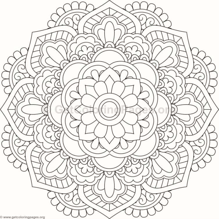 flower mandala coloring pages  109  u2013 getcoloringpages org