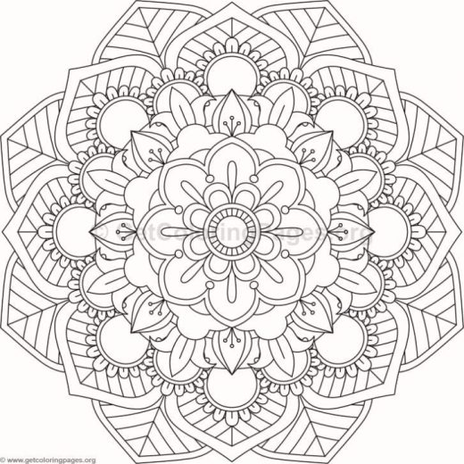 inspirational flower coloring pages - photo#41