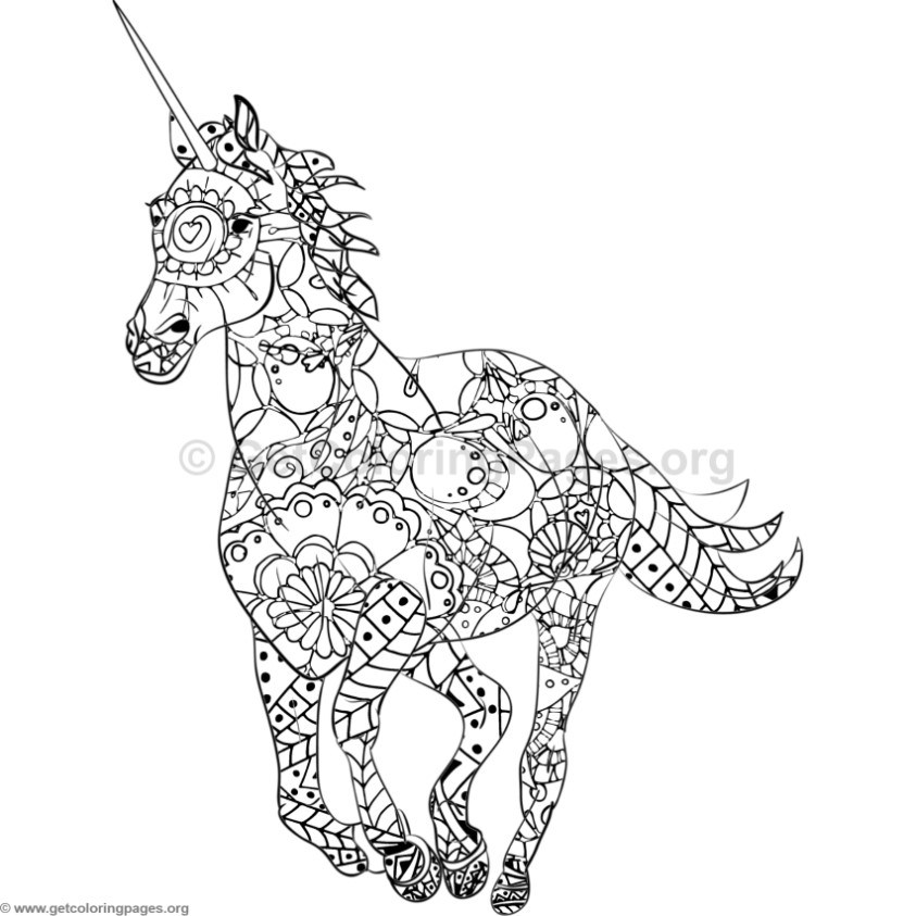 unicorn coloring pages - Coloring Pages Unicorn