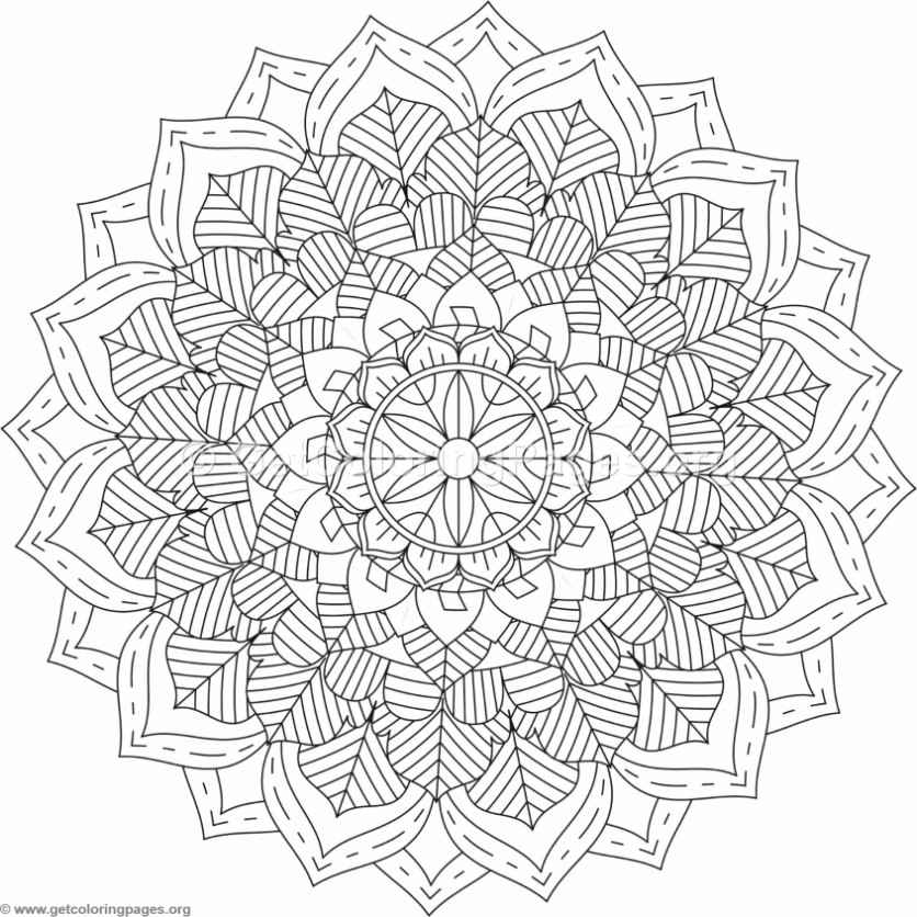 Tribal mandala coloring pages 26 for Tribal coloring pages
