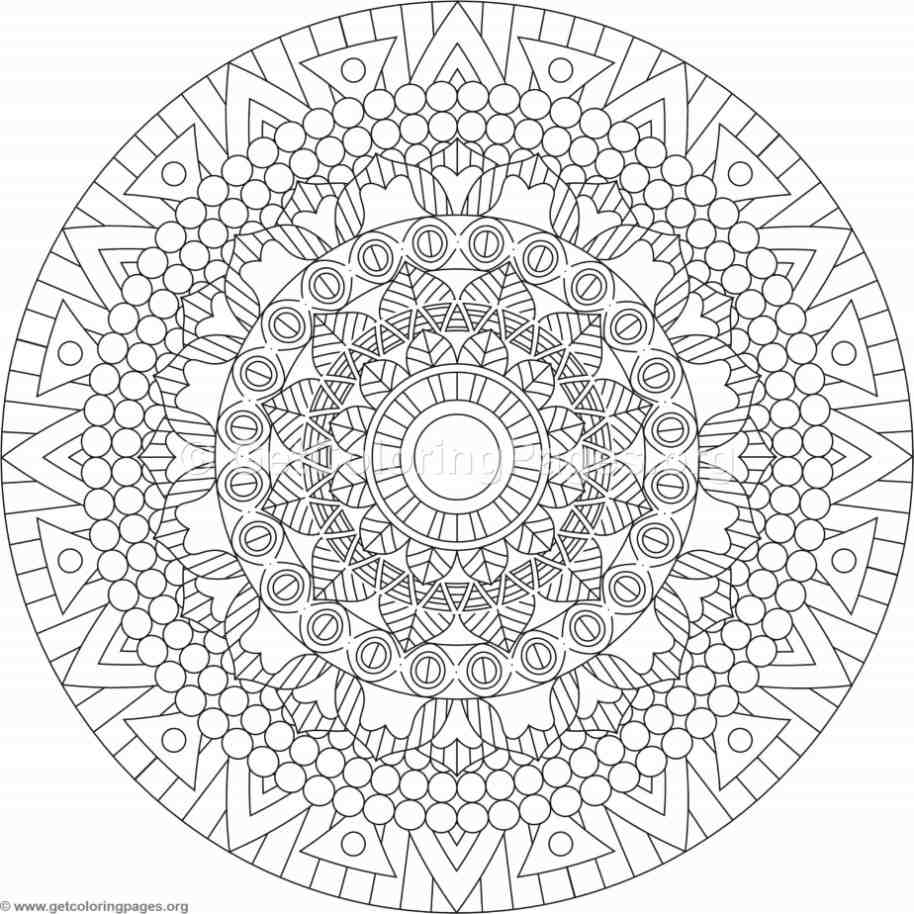 Tribal Mandala Coloring Pages #188 – GetColoringPages.org