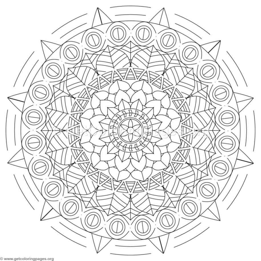 Tribal Coloring Pages Tribal Mandala Coloring Pages 206  Getcoloringpages