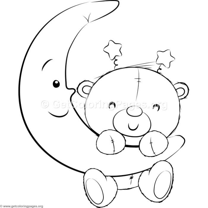 cute teddy bear coloring pages - cute teddy bears 17 coloring pages