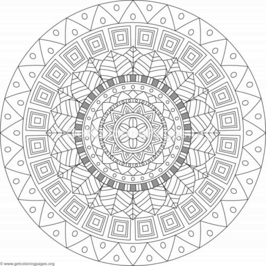94 Mandala Coloring Book Pdf Free Download