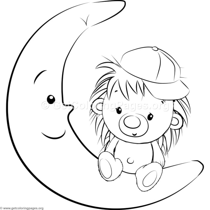 Cute Hedgehog 19 Coloring Pages Getcoloringpages Org