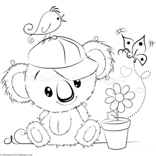 Teddy Bear Number One Coloring Pages Getcoloringpages Org