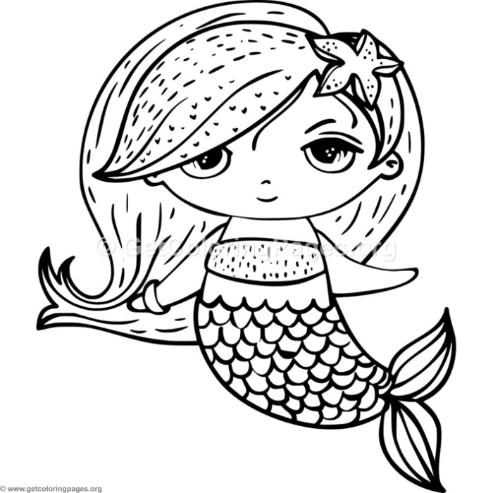 Cute mermaid 3 coloring pages for Coloring page mermaid