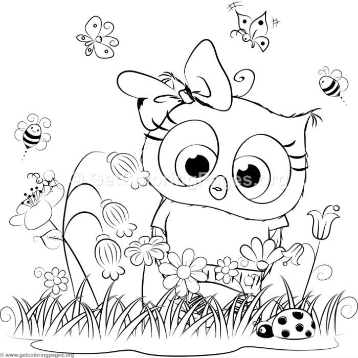 Cute owl 9 coloring pages for Cute coloring pages of owls