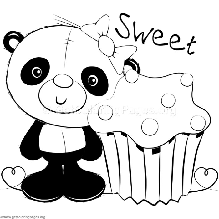 Cute Panda Coloring Pages – GetColoringPages.org