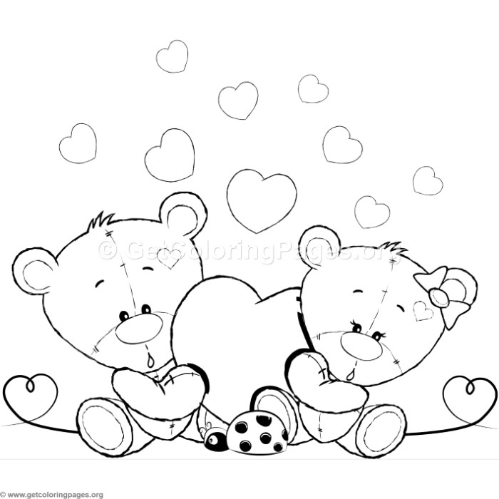 Cute Teddy Bear 49 Coloring Pages Getcoloringpages Org