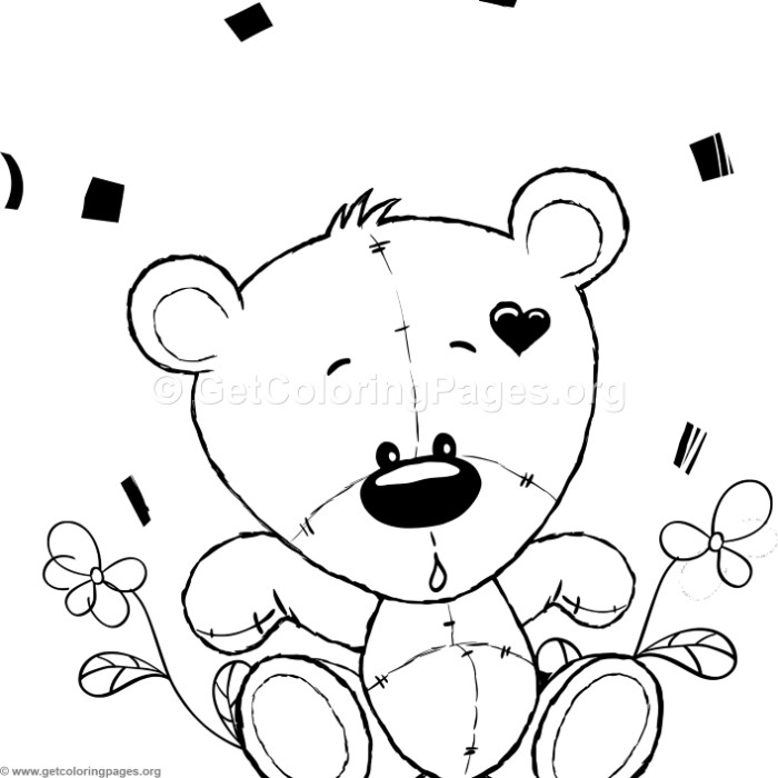 Cute Teddy Bear 50 Coloring Pages Getcoloringpages Org