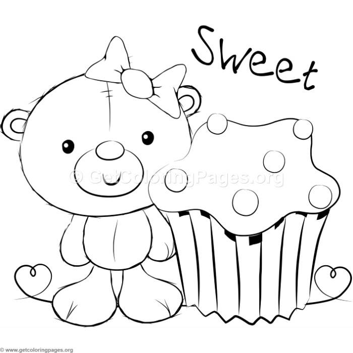 Cute Teddy Bears 31 Coloring Pages – GetColoringPages.org