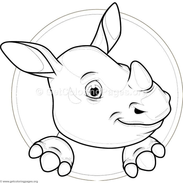 cute baby hippo coloring pages � getcoloringpagesorg