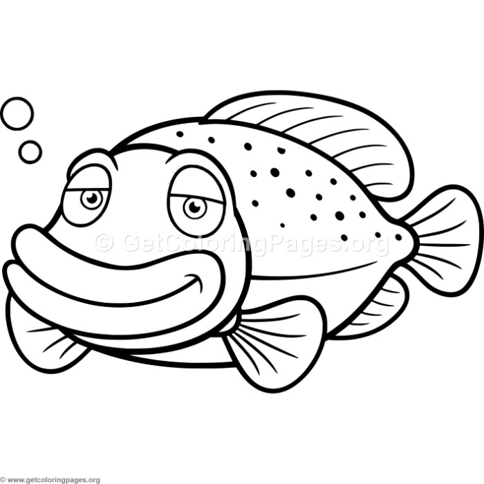 cute fish coloring pages - cute fish coloring pages